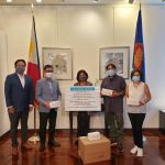 PH Consulate in New York Receives Face Mask and Face Shield Donations
