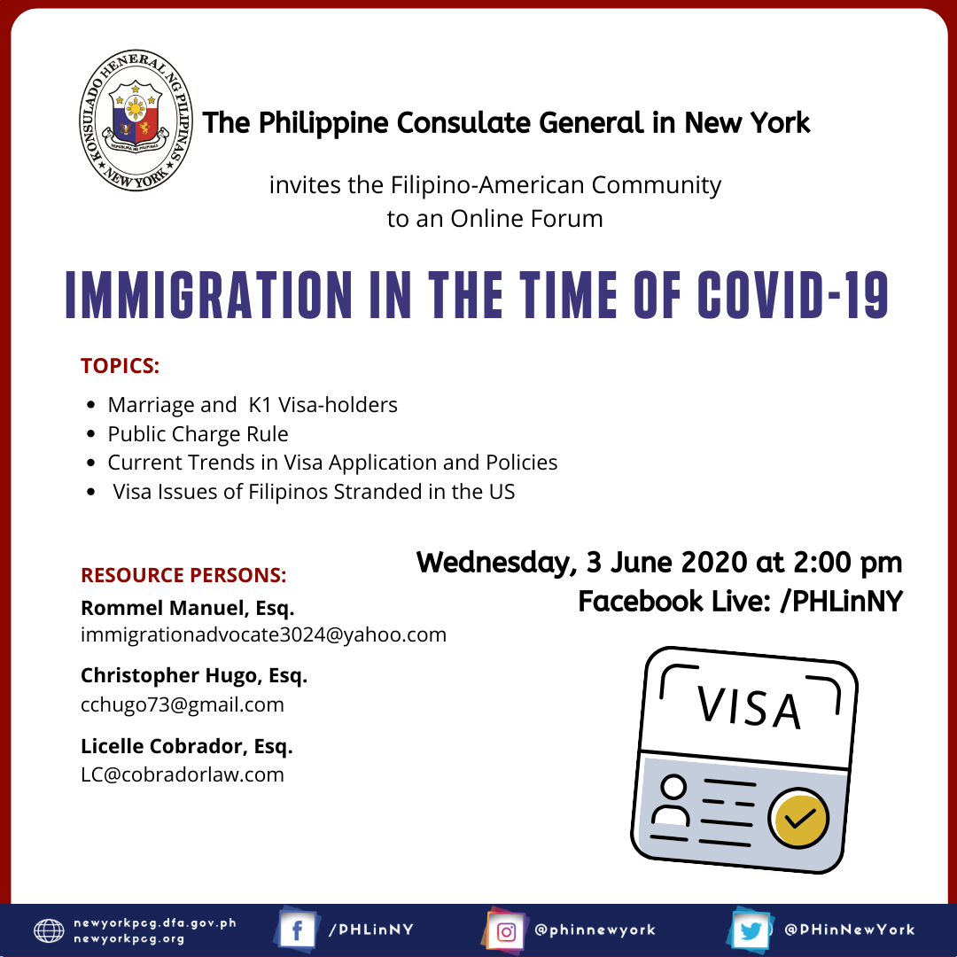 Immigration in the time of COVID - 19 Part II 2