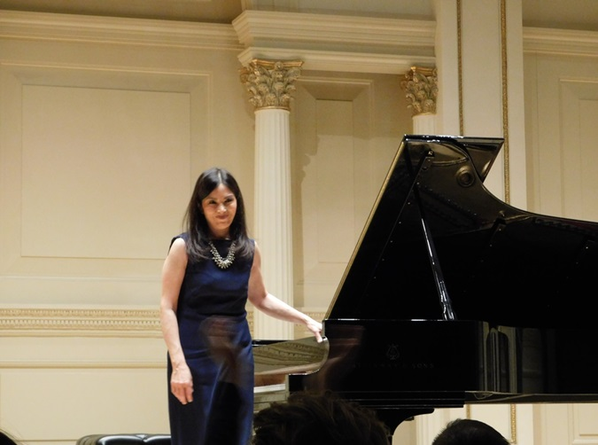 Filipina Piano Virtuoso Cecile Licad Wows at Carnegie Hall Performance