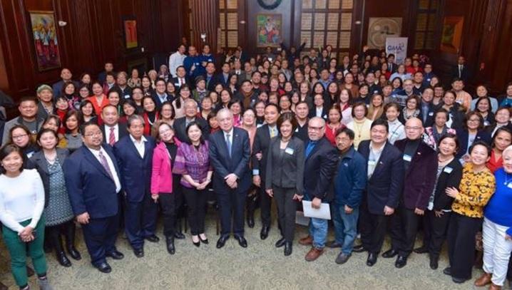 Ambassador Romualdez Meets Northeast Filipino-American Community at 2018 General Assembly