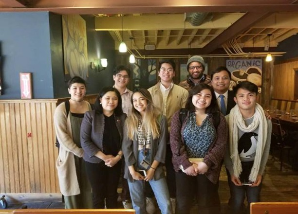 Consul General De Vega Meets Filipino Alliance of Brown University