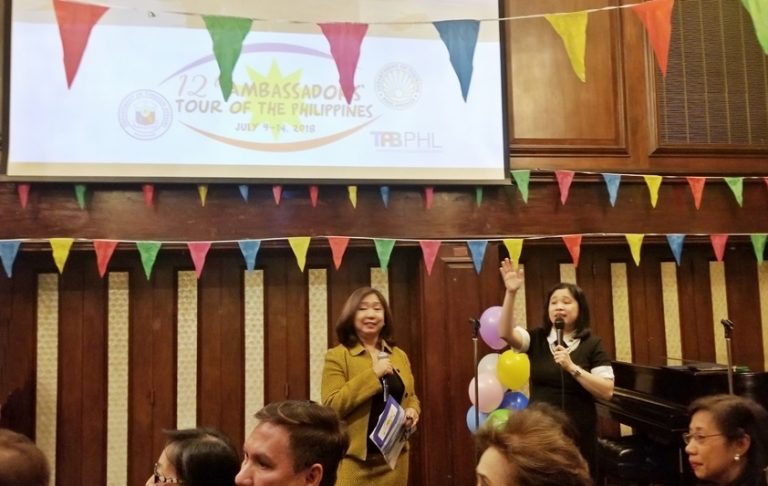 2018 Ambassadors' Tour Launched in New York at Consulate Fiesta Event