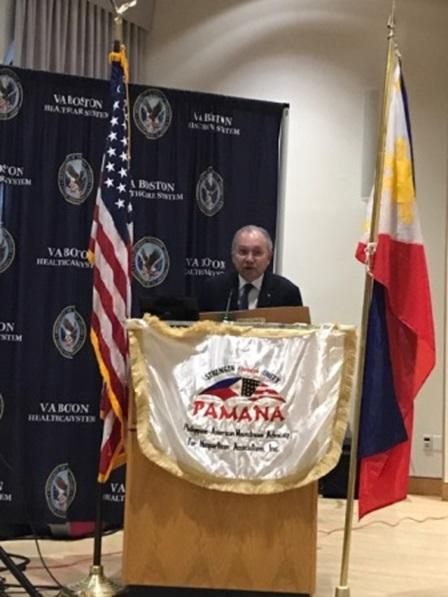 Ambassador Romualdez Meets Filipino Community in New England; Calls them the Philippines' Best Ambassadors