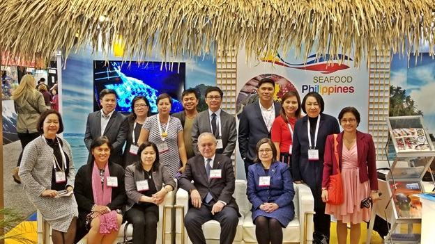 Philippines Showcases Innovative Products in Boston Seafood Show