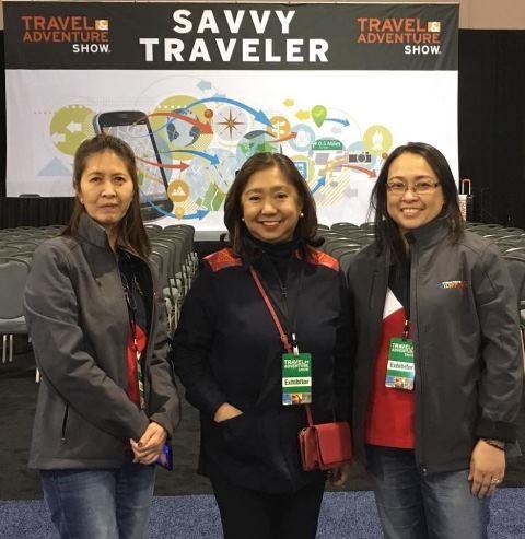 Top Philippine Destinations, Ambassadors' Tour Promoted at Philadelphia Travel and Adventure Show