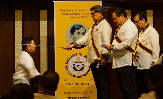 Philippine Consulate in New York and Knights of Rizal  in New York celebrates 157th Birth Anniversary of Jose Rizal