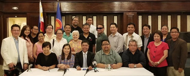 ConGen Cristobal meets with Fil-Am Press on his First Community Event