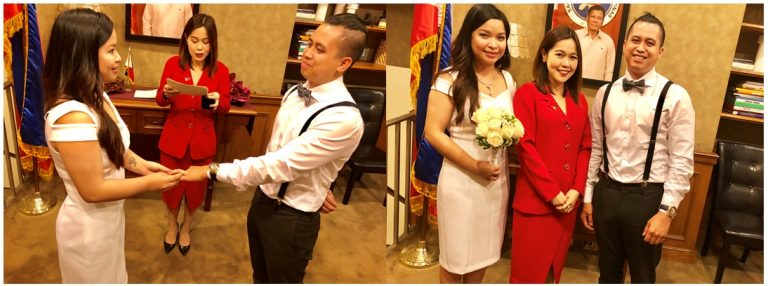 A Wedding Ceremony Takes Place at the Philippine Consulate General
