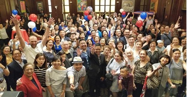 Consul General Cristobal Meets Fil-Am Community