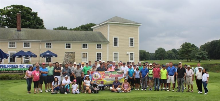 Philippine Consulate participates in Charity Golf Tournament