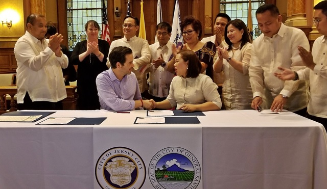 General Santos and Jersey City Pen Sister Cities Agreement