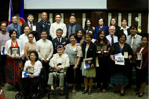Filipino Veterans of World War II Honored in New York