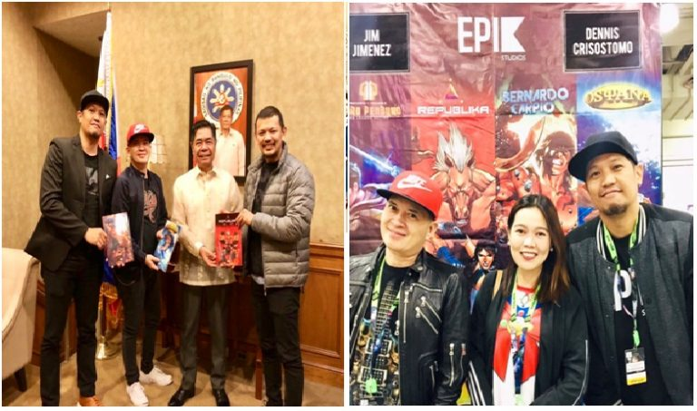 The Philippine Consulate General in NY Welcomes Team Epik Studios