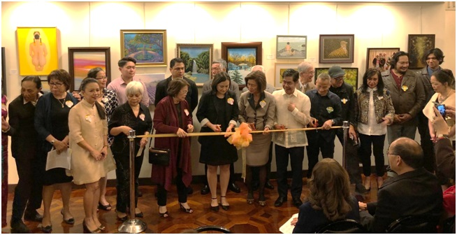 Society of Philippine-American Artists Exhibit Award-Winning Works