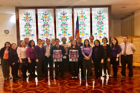 The Philippine Consulate General in New York Kicks Off the 18-Day Campaign to End Violence Against Women