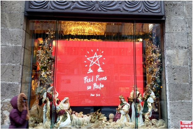 Filipino Christmas, Big Hit in New York