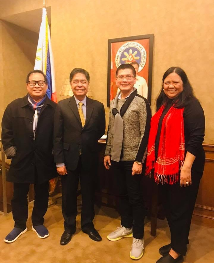 DepEd RO VIII Visits the Consulate in New York with the Plans to Expand Gabay Mag-aaral Project