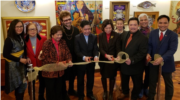 Philippine Center in New York Hosts  Fishers of Men Art Exhibit