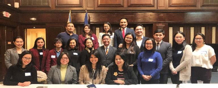 Consul General Meets Filipino Law Students in US Northeast