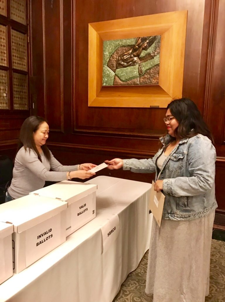 The Philippine Consulate General in NY  Has Started Accepting Ballots of Overseas Voters  for the Philippine Midterm Elections