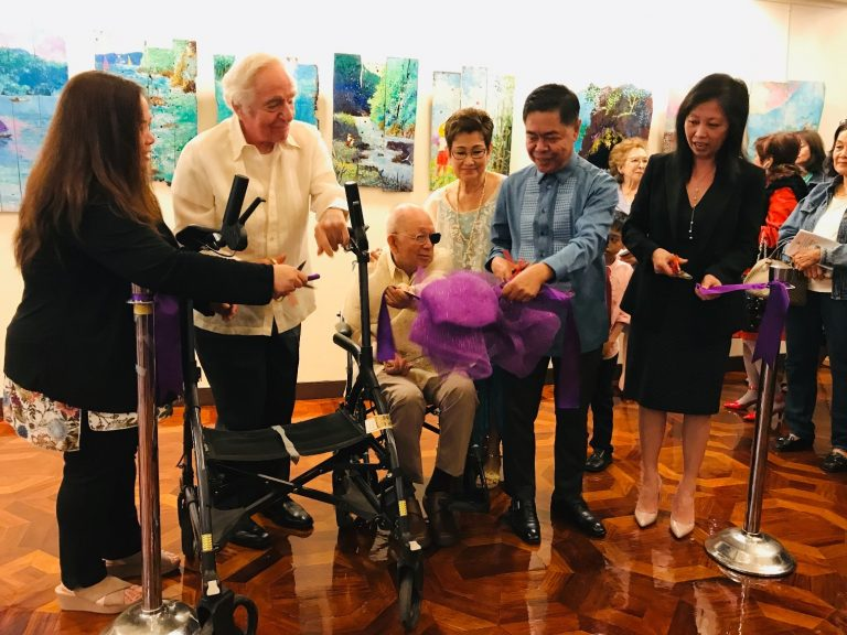 Art Exhibition of Artist Fernando Kabigting Featured at the  121st Philippine Independence Day Celebration