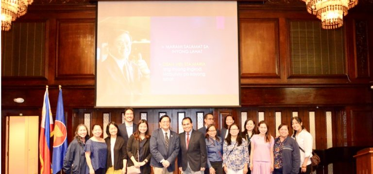 """Filipino Community Gets a """"Refresher Course"""" on Philippine Laws"""