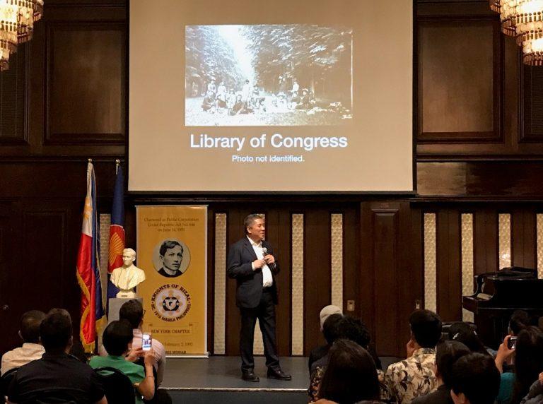 "Prof. Ambeth Ocampo Presents ""Rizal: the Hero as Traveler"" in New York"