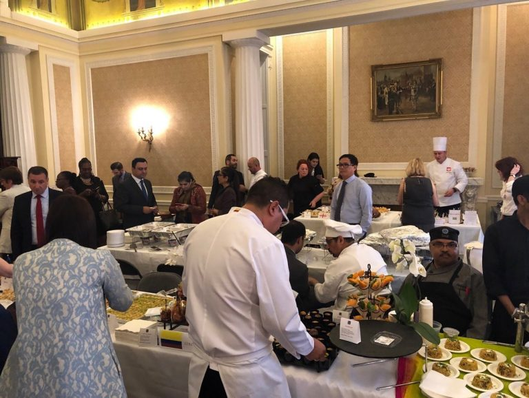 Philippines participated in the Society of Foreign Consuls International Food Festival
