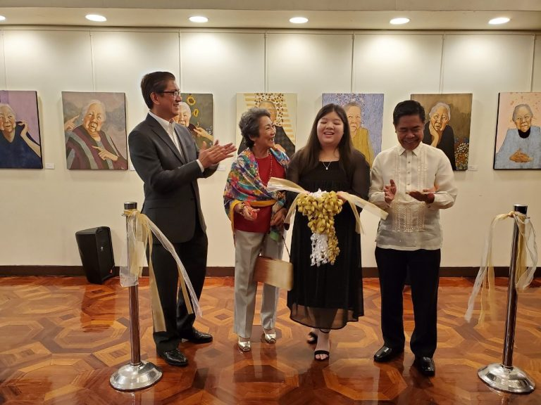 """Ysabel's """"Meeting Rosie"""" Solo Art Exhibit Opens at the Philippine Center"""