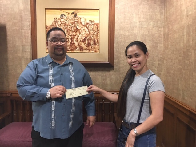 Labor Trafficking Victim Grateful for Financial Assistance From the Philippine Government