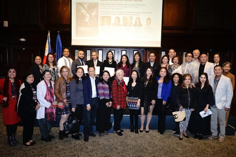 PCG New York Marks Fil-Am History Month with Film Screening of Manila 1945 and a Panel Discussion on Filipino Americans Across Generations