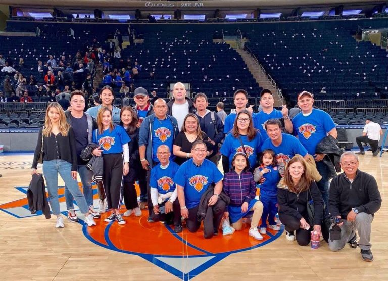 Filipino Night with New York Knicks Caps Off Fil-Am History Month