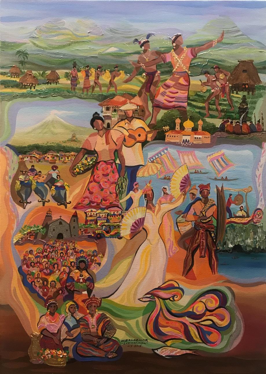 Manuel Baldemor's Luzviminda, An Art Exhibit at the Philippine Center