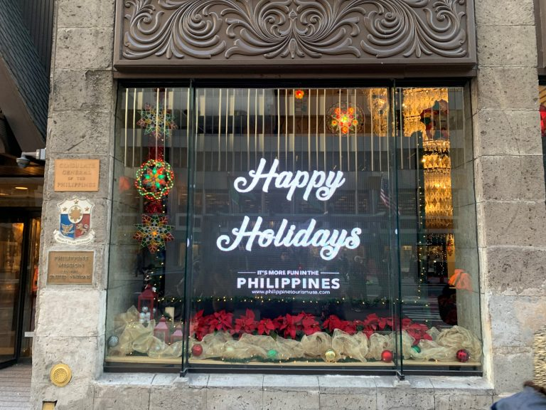 Philippine Consulate in New York Leads  Filipino Christmas Tradition in the Big Apple