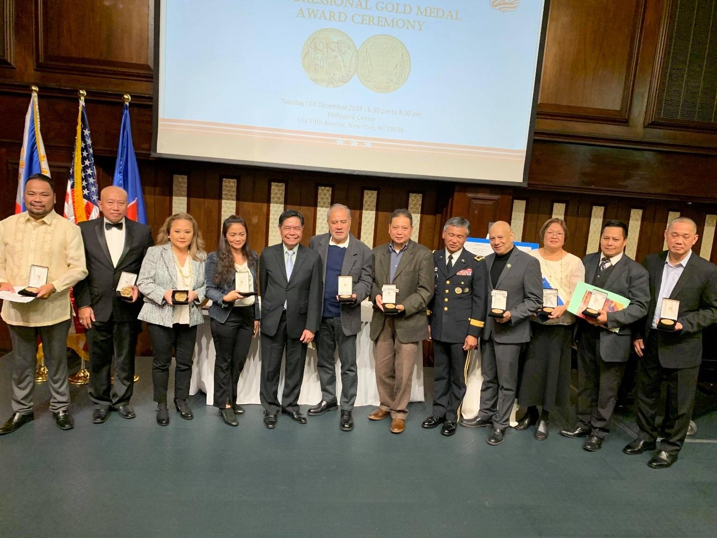 PCG New York, FILVETREP Honor Filipino WWII Vets Anew