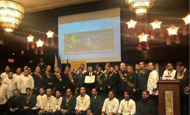Commemoration of the 123rd Martyrdom of Dr. Jose P. Rizal