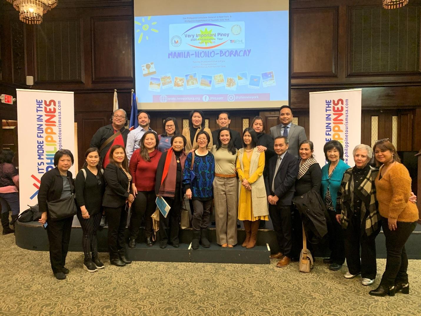 2020 VIP Tour Launched in New York Destination: Manila-Iloilo-Boracay