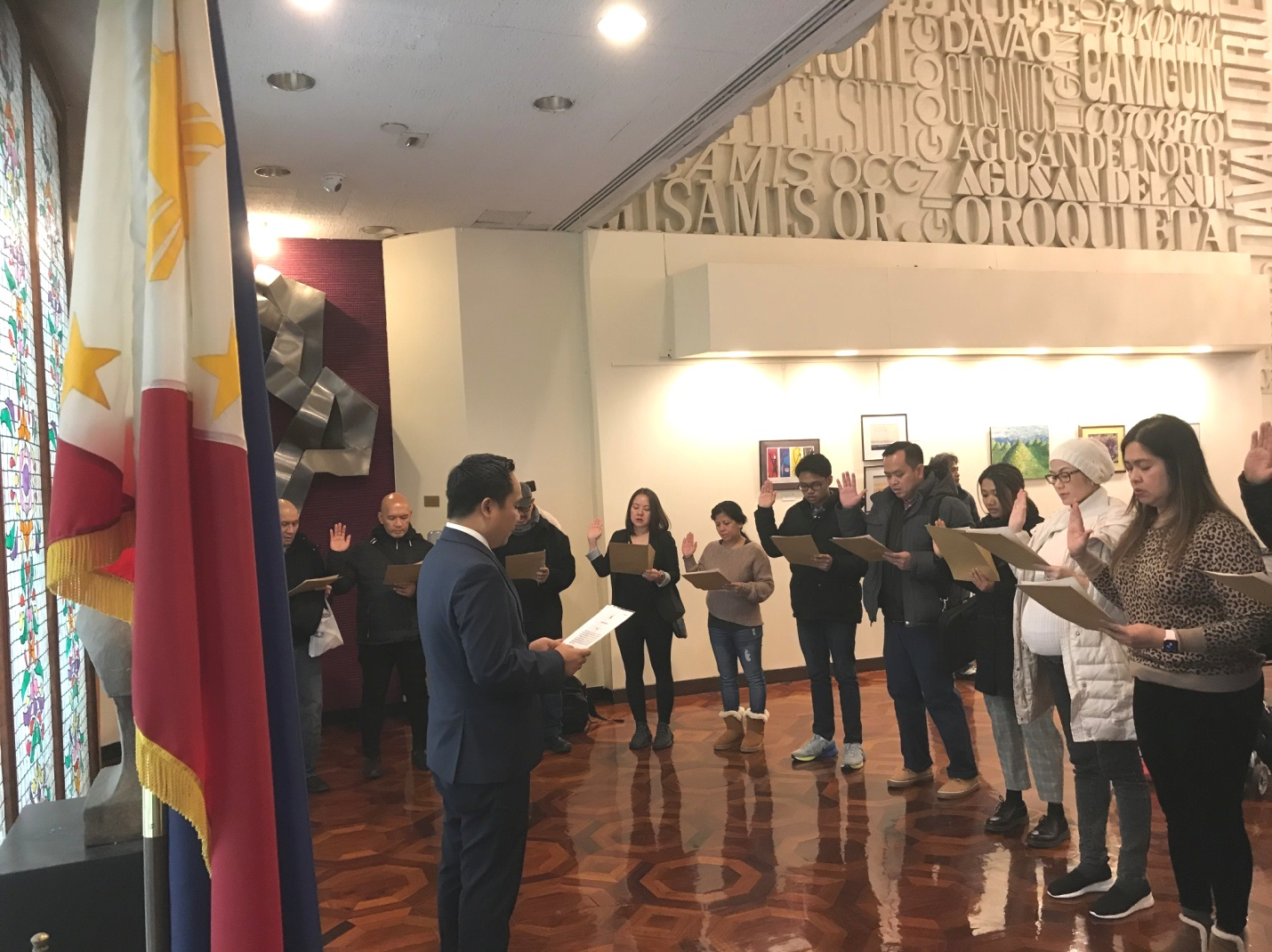 PH Consulate in New York Opens for 1st Consulate Saturday in 2020