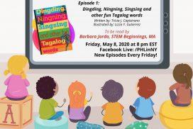 """""""Kwentuhang Pambata: Learning Filipino Language Through Storytelling"""" Episode 1: Dingding, Ningning, Singsing and other fun Tagalog words"""
