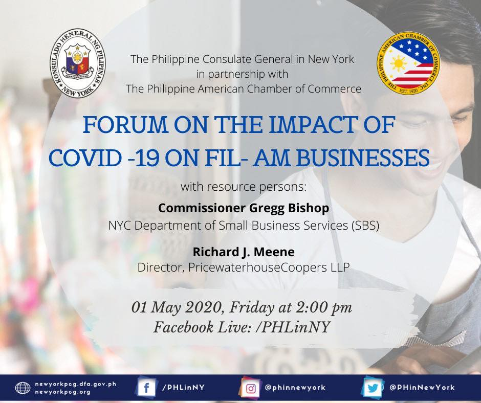 Forum on the Impact of COVID-19 on Fil-Am Businesses