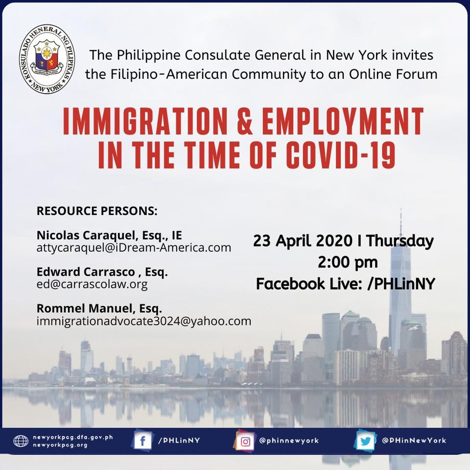 Immigration & Employment in the Time of COVID-19