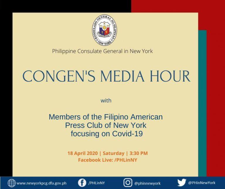 ConGen's Media Hour