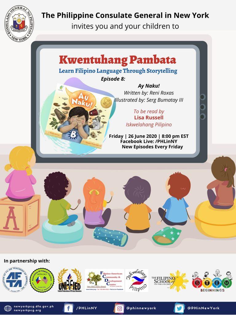 """""""Kwentuhang Pambata: Learning Filipino Language Through Storytelling"""" Episode 8: Ay Naku!"""