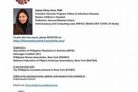 Filipino American Health Forum on Covid-19 Part 9: Covid-19 Vaccines