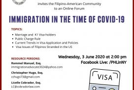 Immigration in the Time of Covid-19