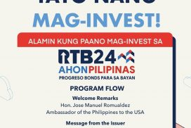 PH's 24th Tranche of Retail Treasury Bonds Launched in the US