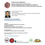 10th Part of Fil-Am Health Forum Discusses COVID-19's Effect on the Nervous System