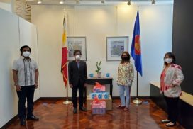 PH Consulate in New York Receives Facemask Donation