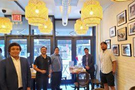 PH Consul General Supports Filipino Restaurants in New York