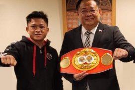 IBF Bantamweight Champion Jerwin Ancajas Calls on Philippine Consul General Elmer Cato